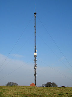 Radio beacon Radio transmitter to identify a location for navigation aid