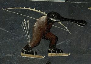 Bosch, Hieronymus - The Garden of Earthly Delights, right panel - Detail skating monster (mid-right).jpg