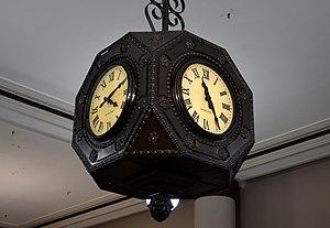 Boston Store (Erie, Pennsylvania) - Clock inside the Boston Store