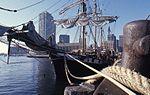 Boston waterfront, with Brig Beaver (8617012938).jpg