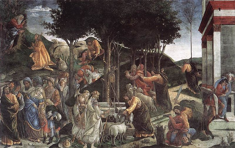 File:Botticelli Scenes from the Life of Moses.jpg