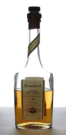 Bottle of Boulard calvados
