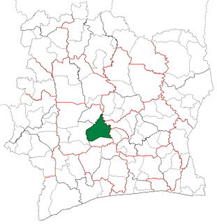 Bouaflé Department Department in Sassandra-Marahoué, Ivory Coast