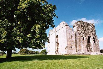 Bowes Castle - Image: Bowes Castle geograph.org.uk 1060655