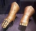 Braccioli di armatura di johan galle, ante 1678, dalla chiesa di sauvo.JPG