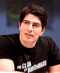 Brandon Routh San Diegon Comic-Conissa 2010.