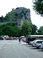 Bratislava, Devín, pohled na hlavní část hradu.jpg