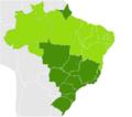 Brazilian States by HDI 2007.png