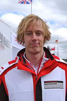 Brendon Hartley Driver of Porsche Team's Porsche 919 Hybrid.jpg