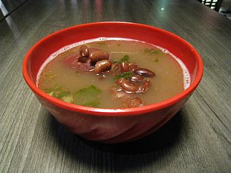 Brenebon - A bowl of warm brenebon soup