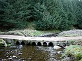 Bridge-ford over River Alwin - geograph.org.uk - 1214464.jpg