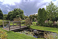Bridge Old Manor House folly Capel Manor Enfield London England.jpg