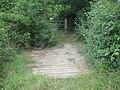 Bridge towards Romden Road - geograph.org.uk - 1421846.jpg
