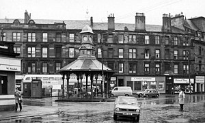 Bridgeton, Glasgow - 1974 image of Bridgeton Cross