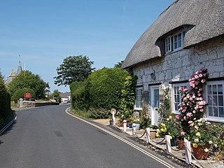 Brighstone village in the United Kingdom