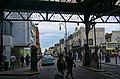 Brighton - Brighton Rail - View South down Queen's Road towards the sea.jpg