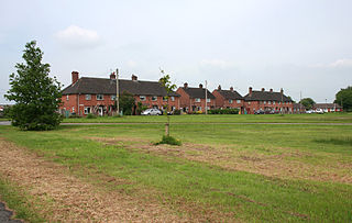 Brindley village in the United Kingdom