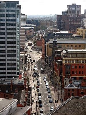 Broad Street, Birmingham - Broad Street, Birmingham City Centre
