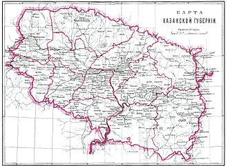 Kazan Governorate - Image: Brockhaus and Efron Encyclopedic Dictionary b 26 912 0