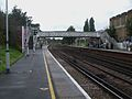 Brockley station southbound look south.JPG