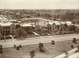 Brougham Gardens, North Adelaide, Australia, Eastern End in 1910.jpg