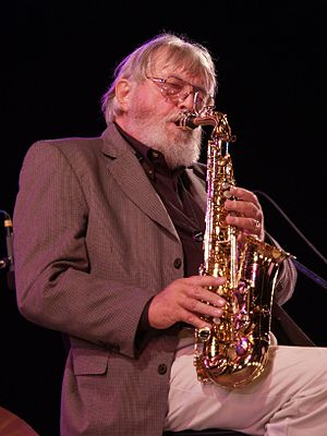 Bud Shank discography - Bud Shank performing in 2006
