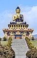 Buddha statue at Buddha Park of Ravangla, Sikkim, India (4).jpg