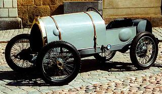 the first real Bugatti car