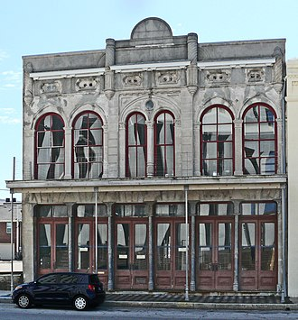 National Register of Historic Places listings in Galveston County, Texas - Image: Building at 1921 1921 One Half Avenue D, Galveston