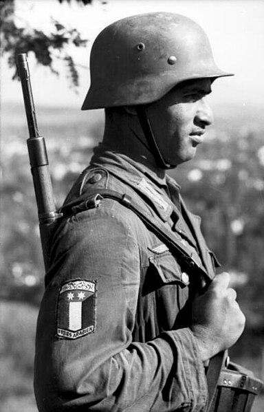Extranjeros en el ejercito Aleman WWII (de color y judios)