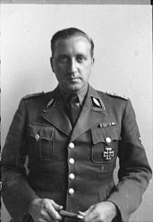 Helmut Knochen SS officer