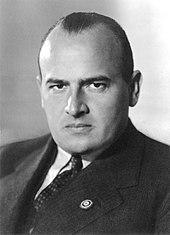 Hans Frank (1939). Für ihn komponierte Pfitzner die Krakauer Begrüßung (Quelle: Wikimedia)