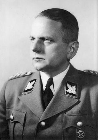 Otto Ohlendorf - Ohlendorf in 1943