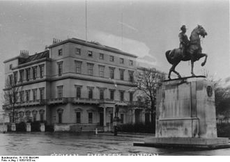 Embassy of Germany, London - The German Embassy, c. 1930