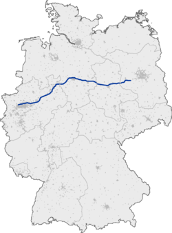 Bundesautobahn 2 map.png