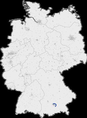 Bundesautobahn 99 - Image: Bundesautobahn 99 map