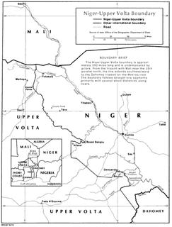 Burkina Faso–Niger border
