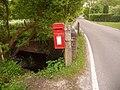 Burley, postbox No. BH24 11, Chapel Lane - geograph.org.uk - 1311582.jpg