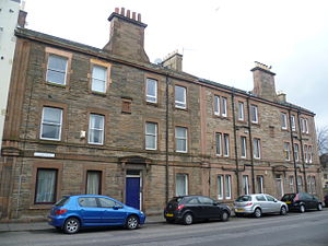 Bonnington, Edinburgh - Burns tenement, Newhaven Road