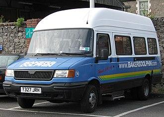 LDV Convoy - Pre-facelift high-topped LDV Convoy bus