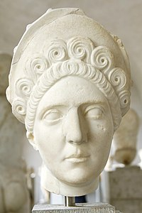 Bust of Plotina (GL 405) - Glyptothek - Munich - Germany 2017.jpg