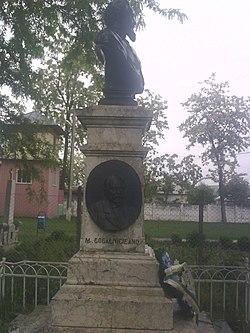 Bustul Domnitorului Ioan Cuza Grivita,Vaslui.jpg