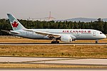 C-GHQY Air Canada Boeing 787-8 Dreamliner coming in from Montreal (YUL) @ Frankfurt International (FRA) - 21.06.2017 (35451372045).jpg