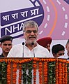 C.P. Joshi addressing at the dedication ceremony of the first RFID Technology based electronic Toll Collection Plaza & four-lane Zirakpur-Parwanoo NH-5 section to the Nation, at Chandimandir distt. Panchkula, Haryana.jpg