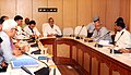 C.P. Joshi reviews the progress of road and highway project in U.P., in New Delhi on May 18, 2012. The Minister of State for Road Transport and Highways, Shri Jitin Prasada is also seen.jpg
