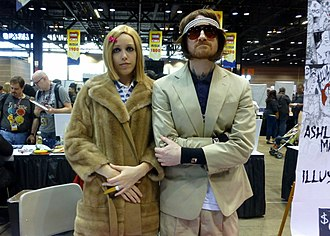 The Royal Tenenbaums - Fans dress as Margot and Richie at the 2014 Chicago Comic & Entertainment Expo.