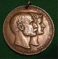 CANADA GOVERNOR GENERAL PRENSENTATION MEDAL 1884 a - Flickr - woody1778a.jpg