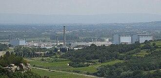 Marcoule Nuclear Site - Image: CEA Marcoule Site