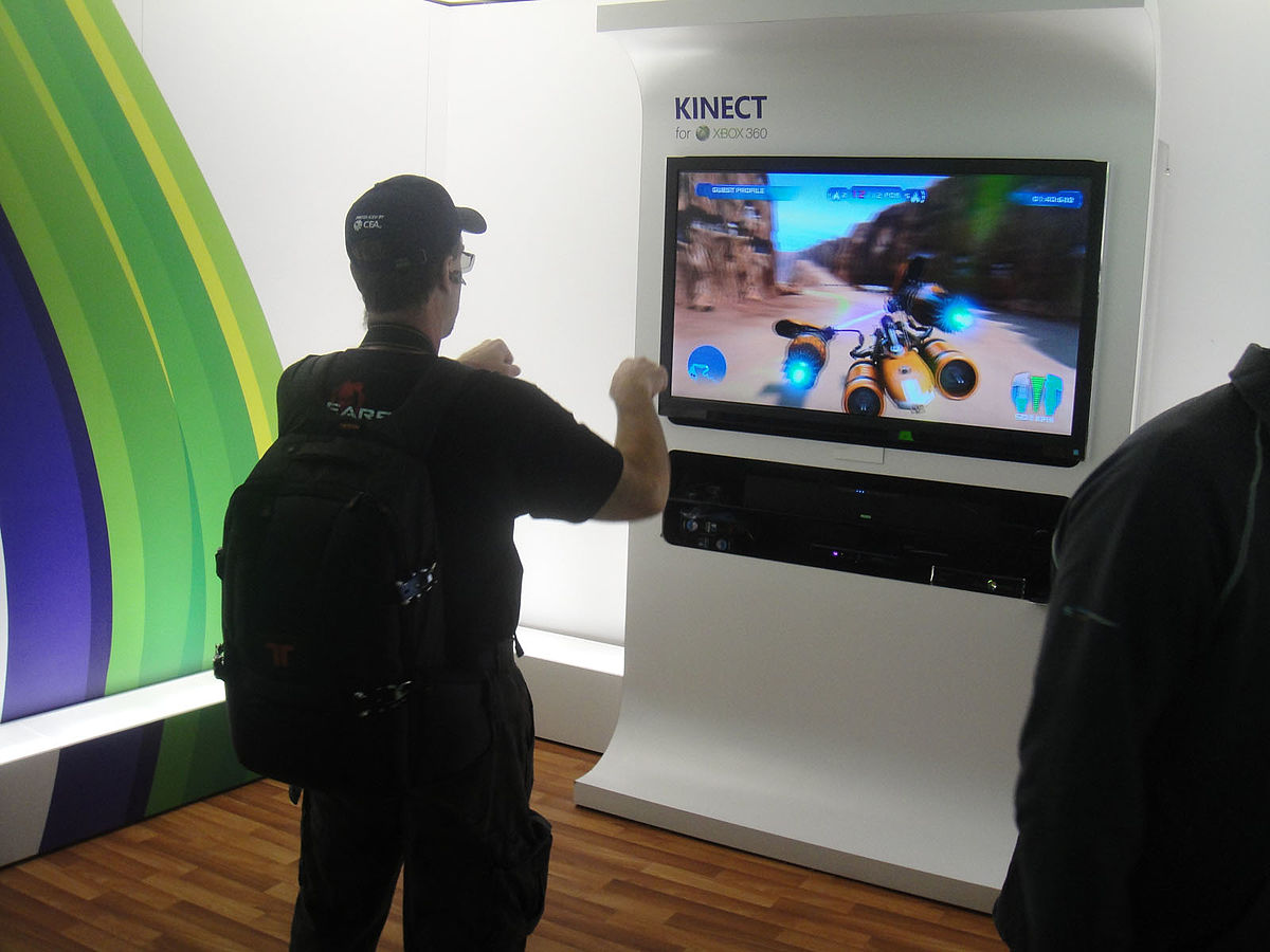 File Ces 2012 Microsoft Kinect Star Wars Episode 1 Podracing 6764013293 Jpg Wikimedia Commons