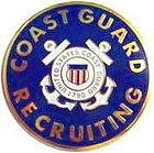 USCG Recruiter Badge